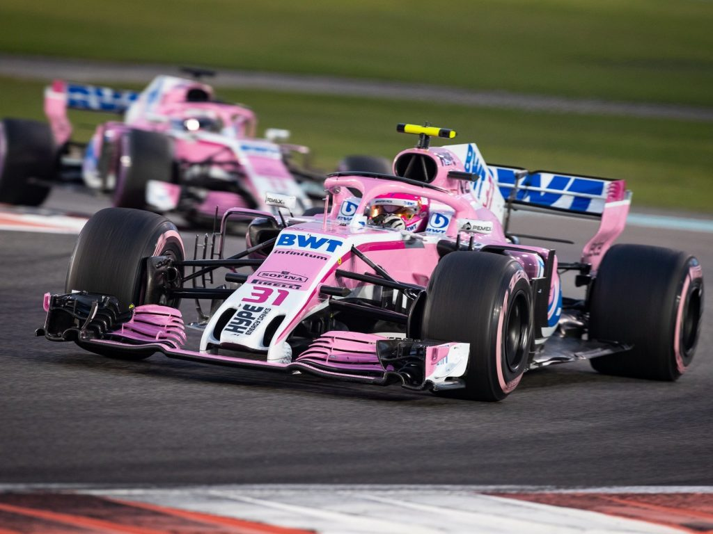 formula one pink london